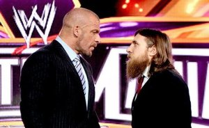 Triple H Daniel Bryan height difference