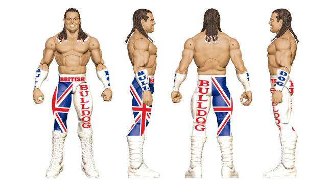 WWE Ringside Fest Mattel British Bulldog