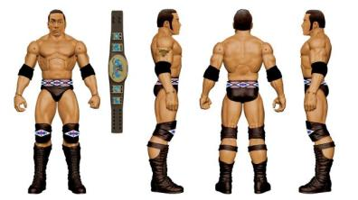 WWE Ringside Fest Mattel Elite two pack The Rock