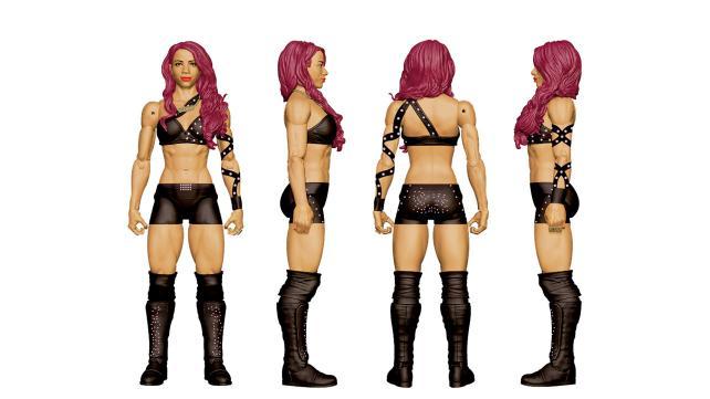 WWE Ringside Fest Mattel Sasha Banks