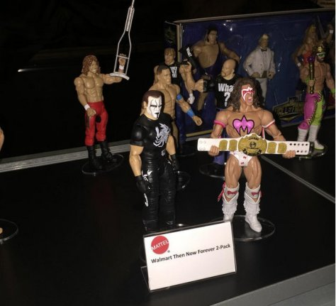 WWE Ringside Fest Mattel - Sting and Ultimate Warrior