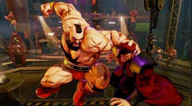Zangief Street Fighter 5 -air_spd vs Bison