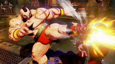 Zangief Street Fighter 5 -kick