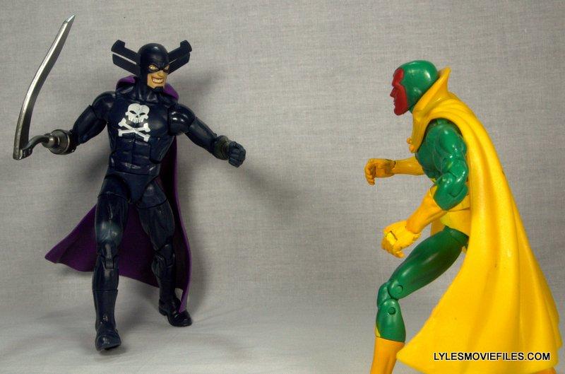 Marvel Legends Grim Reaper - facing off Vision