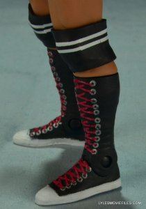 WWE Mattel Basic AJ Lee - boot closeup2