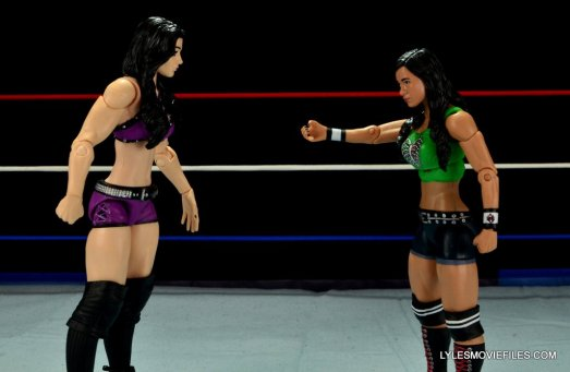 WWE Mattel Basic AJ Lee - hand out to Paige2