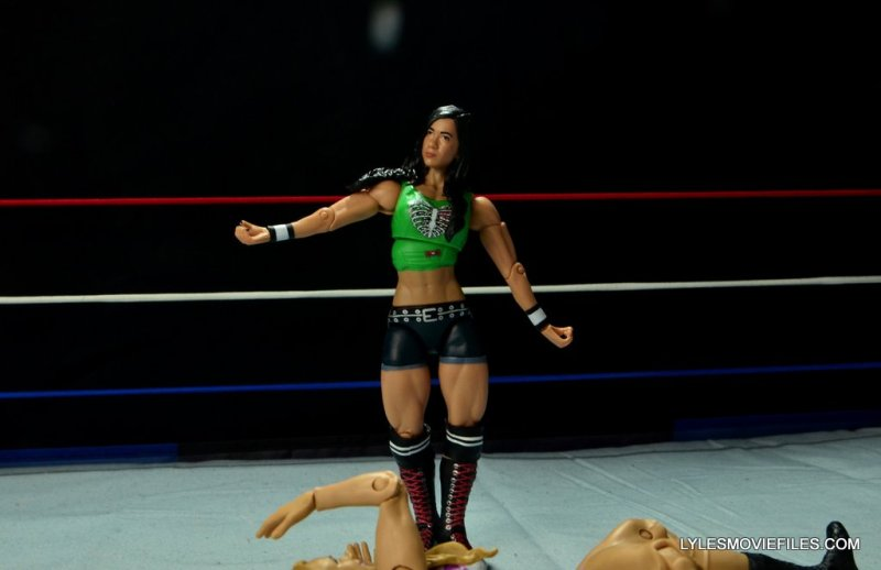 WWE Mattel Basic AJ Lee - skipping2