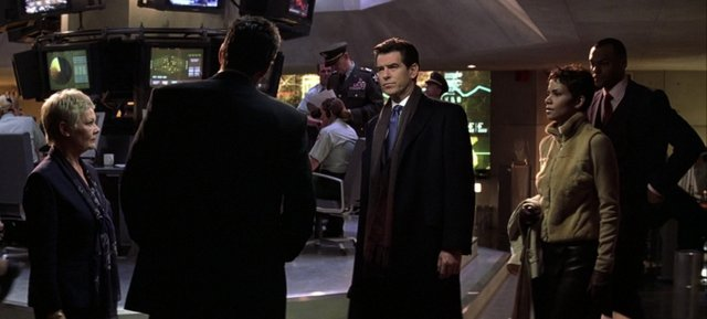 Die Another Day -M, Bond, Jinx and Charles