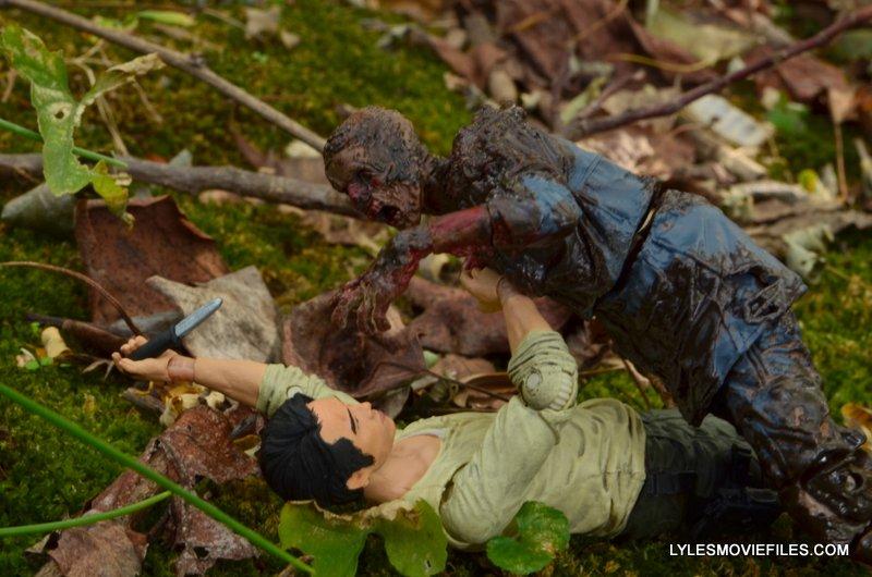 McFarlane Toys Walking Dead Mud Walker - going after Glenn