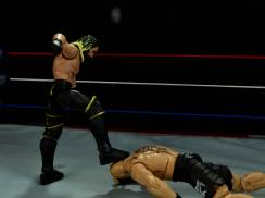 Seth Rollins Mattel exclusive -curb stomping Lesnar