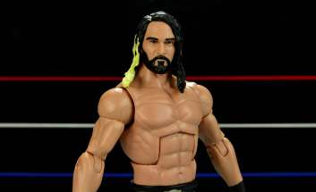 Seth Rollins Mattel exclusive -slanted forward