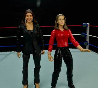 WWE Basic Stephanie McMahon - with Jakks Stephanie McMahon