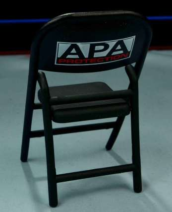 WWE Mattel APA -APA chair