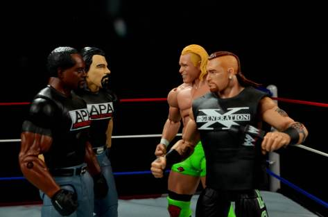 WWE Mattel APA -APA vs New Age Outlaws