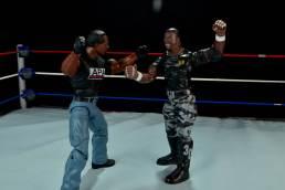 WWE Mattel APA -Faroog faces off with Devon Dudley