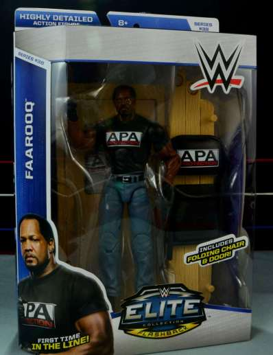 WWE Mattel APA - Farooq front package
