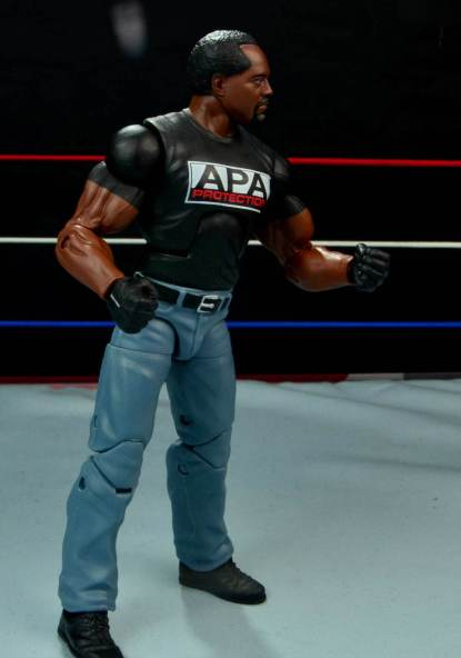 WWE Mattel APA -Farooq right side