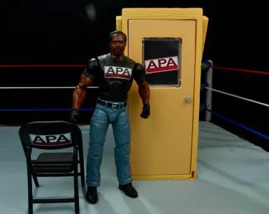WWE Mattel APA -Farooq with accessories