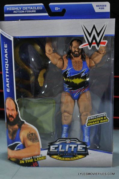 WWE Mattel Earthquake - front package