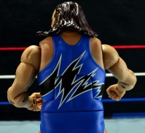 WWE Mattel Earthquake - singlet back