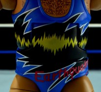 WWE Mattel Earthquake - singlet detail