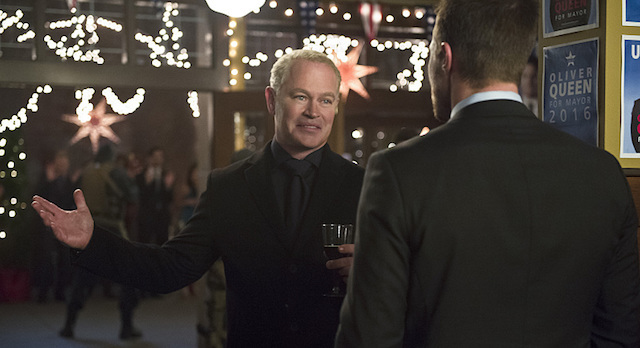 Dark Waters - damien darhk and oliver queen
