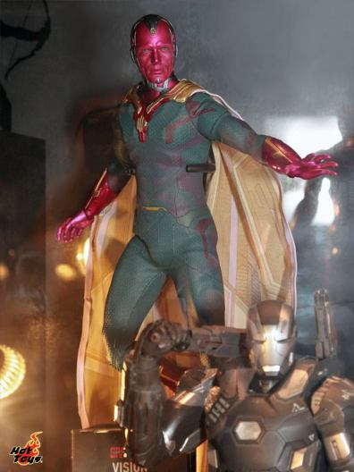 Captain America Civil War The Vision figure Hot Toys