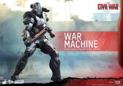 Captain America Civil War - War Machine - with staff
