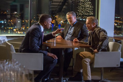 "L-r, Will Smith, Alec Baldwin and Arliss Howard star in Columbia Pictures' ""Concussion."""
