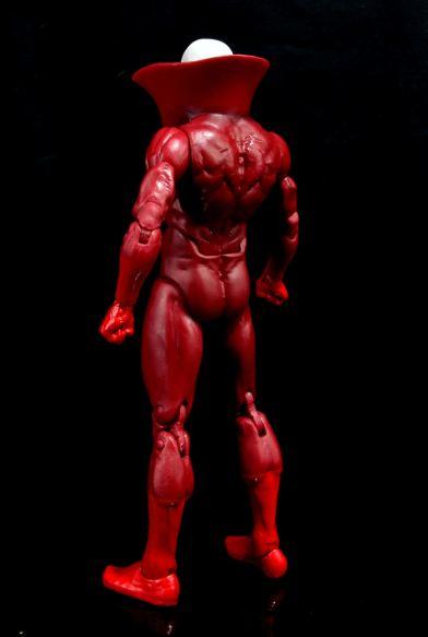 DC Icons Deadman figure review -left rear