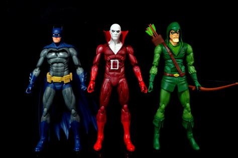 DC Icons Deadman figure review - with Batman and Green Arrow