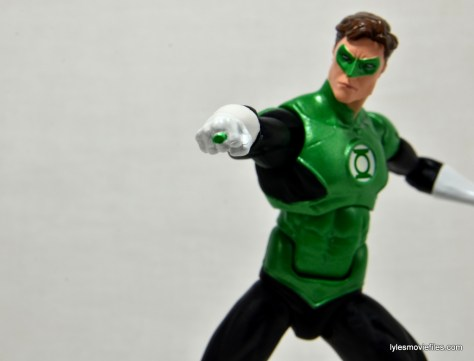 DC Icons Green Lantern figure review -aiming ring