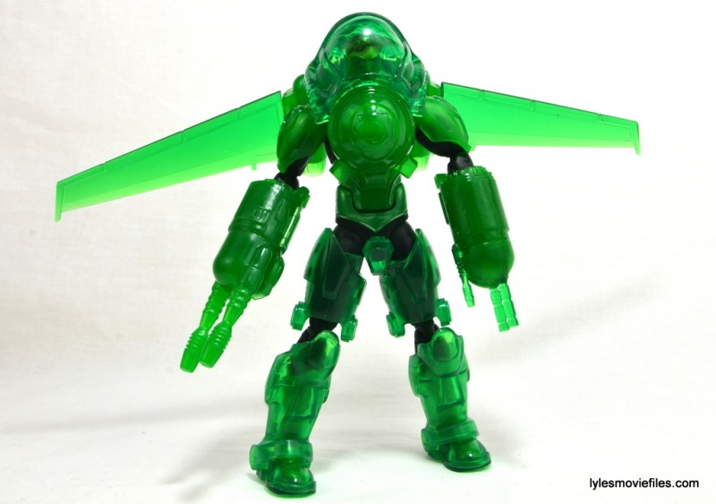 DC Icons Green Lantern figure review -armored up
