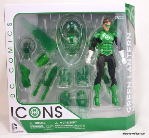 DC Icons Green Lantern figure review - front package