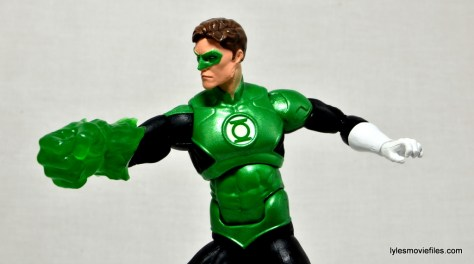 DC Icons Green Lantern figure review -large fist