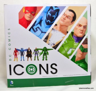 DC Icons Green Lantern figure review -package back