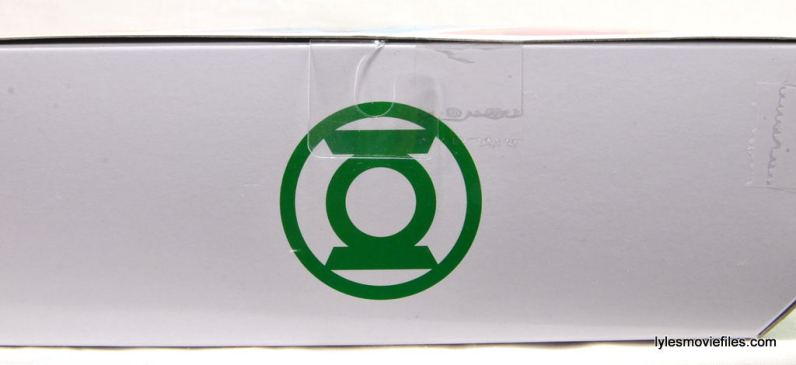 DC Icons Green Lantern figure review -package top