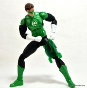 DC Icons Green Lantern figure review -removing thigh construct