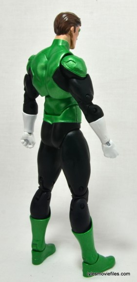 DC Icons Green Lantern figure review -right rear