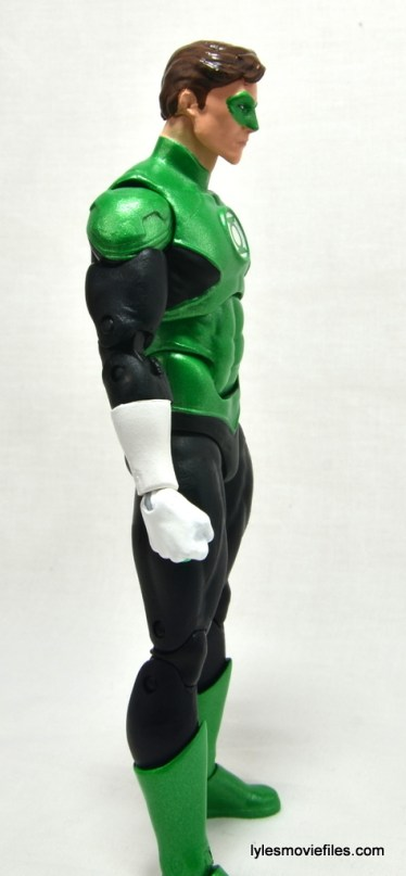DC Icons Green Lantern figure review -right side
