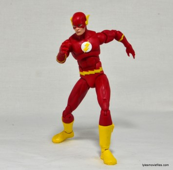 DC Icons The Flash figure review - on your mark