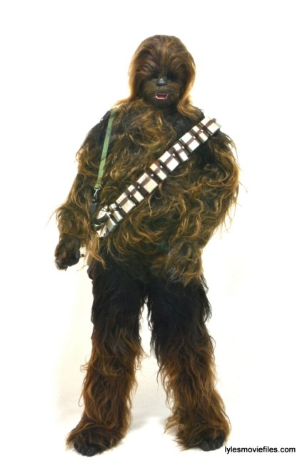 Hot Toys Han Solo and Chewbacca review - Chewbacca straight