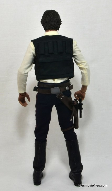 Hot Toys Han Solo and Chewbacca review -Han Solo rear