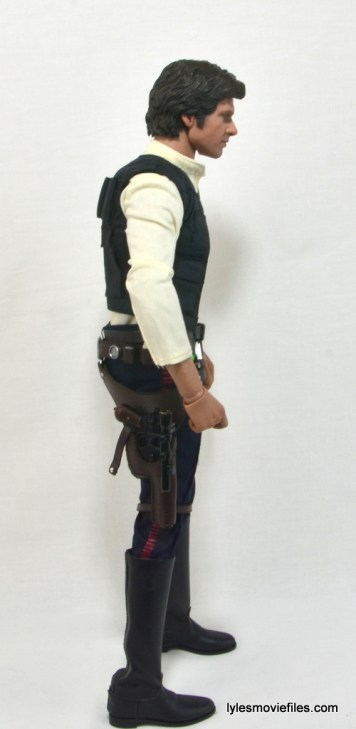 Hot Toys Han Solo and Chewbacca review -Han Solo right side