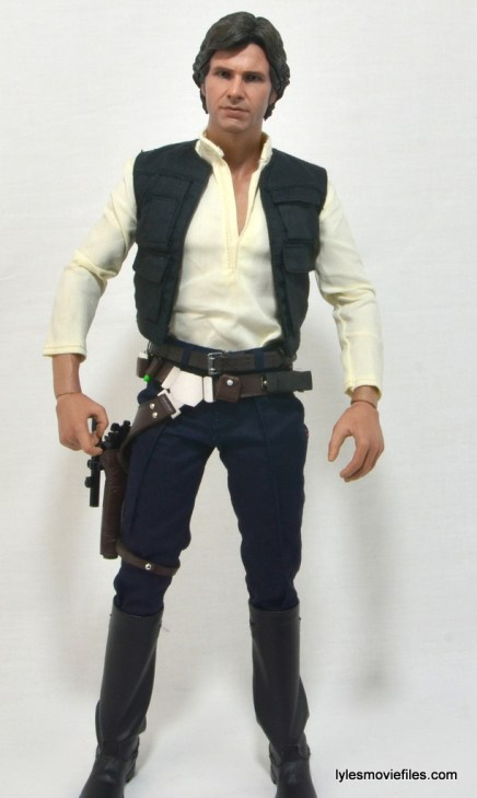 Hot Toys Han Solo and Chewbacca review -Han Solo straight ahead