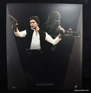Hot Toys Han Solo and Chewbacca review - outer box