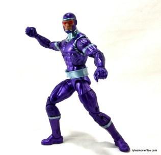 Machine Man Marvel Legends figure review - action pose