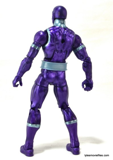 Machine Man Marvel Legends figure review - Machine Man rear