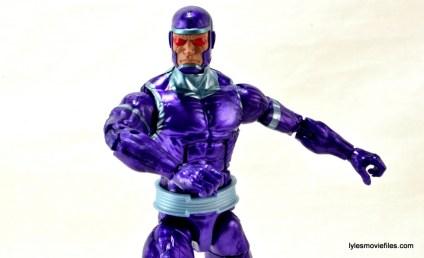 Machine Man Marvel Legends figure review - main profile pic