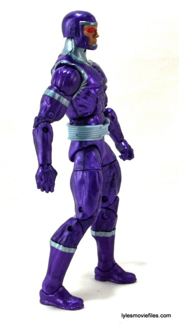 Machine Man Marvel Legends figure review - right side